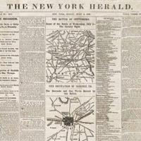 The New York Herald Reports the Civil War