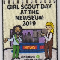 Girl Scout patch 2019