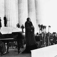 Marian Anderson Performs at Lincoln Memorial, 1939