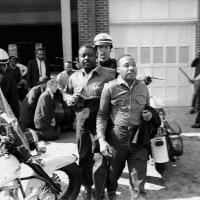 King Jailed in Birmingham, Ala., 1963