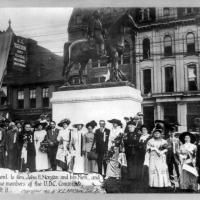 Photograph of Memorial Built by United Daughters of the Confederacy, 1911