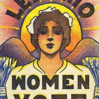 Pro-Suffrage Postcard from Ohio, 1915