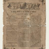 The first issue of The Una