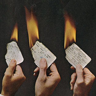 Magazine Depicts Draft Cards on Fire, 1967 teaser