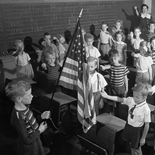 Young Students Salute U.S. Flag, 1943 teaser