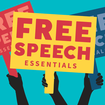 Free speech EDCollection logo - square