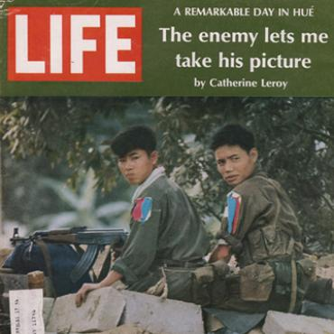 Life magazine cover from Vietnam