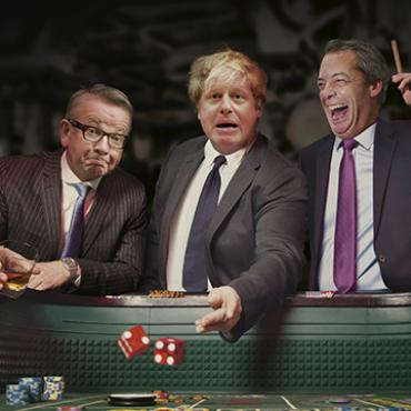 Ad Says Leaving EU is a 'Gamble,' 2016
