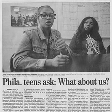 Black Teens Ambivalent about Walkouts, 2018 (2 of 2) Teaser