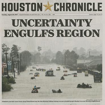 Chronicle' Continues Harvey Coverage, 2017 (1 of 3)
