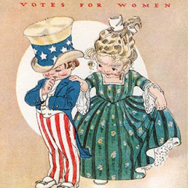 Pro-Suffrage Card, 1914 SD Vote Teaser