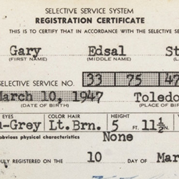 Vietnam-Era Draft Card, 1965 teaser