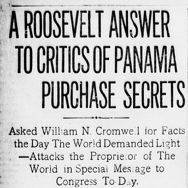 Roosevelt Attacks Media in Letter to Congress, 1908 teaser