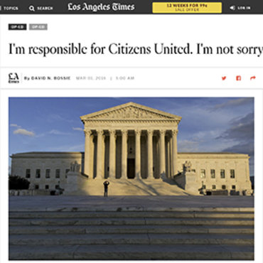 Citizens United President Offers No Apology, 2016 teaser