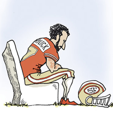 Cartoonist Uses Flag to Defend Kaepernick, 2016 teaser