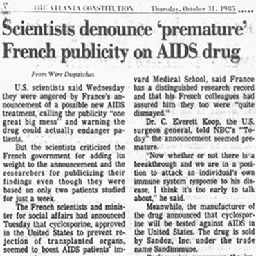 Story Reports on Soviet Theories About AIDS, 1985 teaser