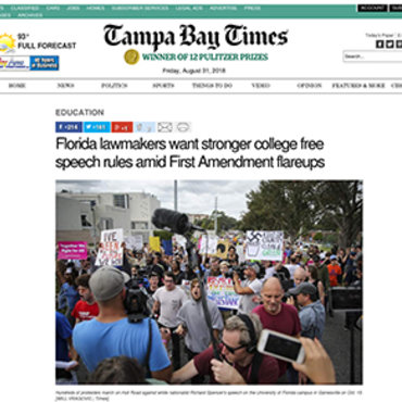 Florida Debates Campus Free Expression Bill, 2017 teaser