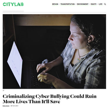 Columnist: Are Cyberbullying Laws the Best Course? teaser