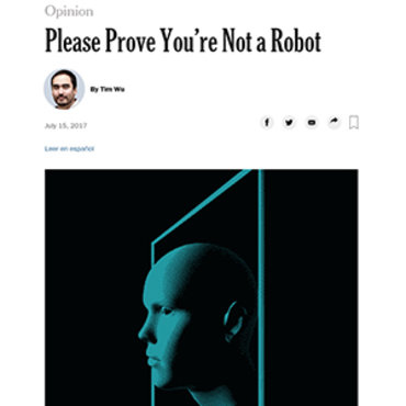 Writer Calls for Tougher Stance Against Bots, 2018 teaser