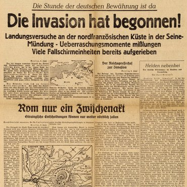 German D-Day Paper HN-1944-001776 thumbnail