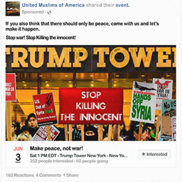 Facebook Event Condemns 'Killing of Innocent' in Syria Teaser