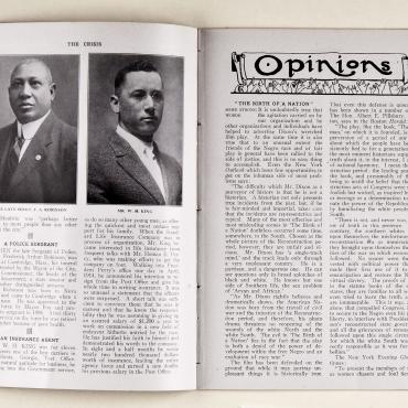 Opinion Piece Critical of 'Birth of a Nation,' 1915