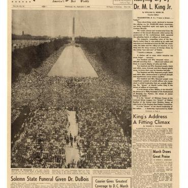 News Coverage of the March on Washington, 1963