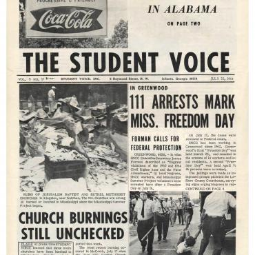 SNCC Newspaper Chronicles Violence, 1964
