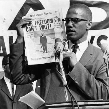Malcolm X Rallies for Black Unity, 1963