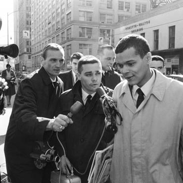 Representative-elect Julian Bond, 1966, and the Press