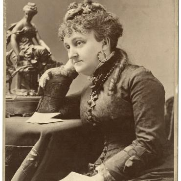 Photograph of Myra Bradwell, Women's Rights Advocate