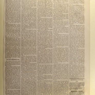 Newspaper Coverage of Suffragists' 'Declaration of Rights,' July 15, 1876