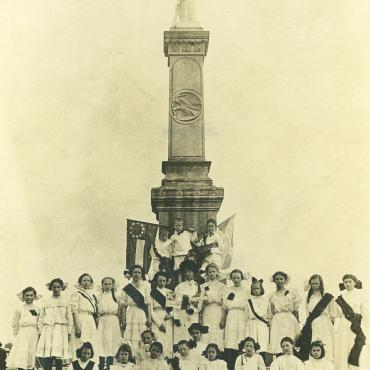 Photograph of Ladies Memorial Association of Talladega, Ala.
