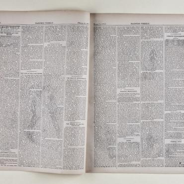 Harper's Weekly reports on 15th Amendment.
