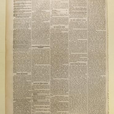 Newspaper Coverage of Minor v. Happersett, April 3, 1875