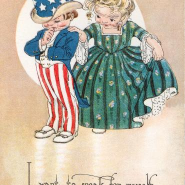 Pro-Suffrage Card, 1914