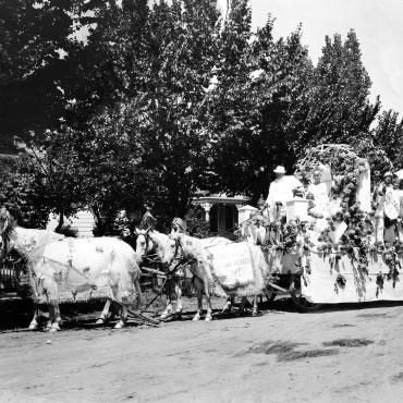 Suffrage Parade in Nevada, 1914