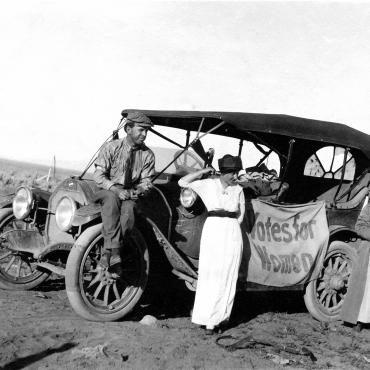 Suffragists Travel Across Nevada