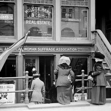 National American Woman Suffrage Association Headquarters, 1913