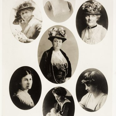 Portraits of National Woman's Party Officers