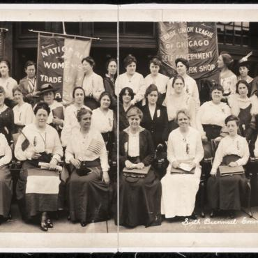 National Women's Trade Union League Members, 1917