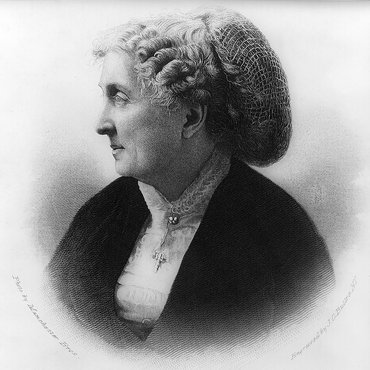Portrait of Paulina Wright Davis, Publisher of 'The Una'