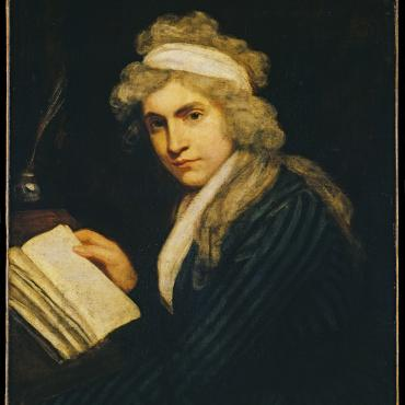 portrait of Mary Wollstonecraft