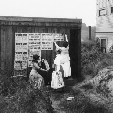 Suffragists in Seattle