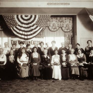 National American Woman Suffrage Association, Circa 1917-1919
