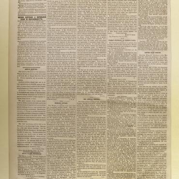 Newspaper Coverage of Victoria Woodhull's Arrest, Nov. 9, 1872