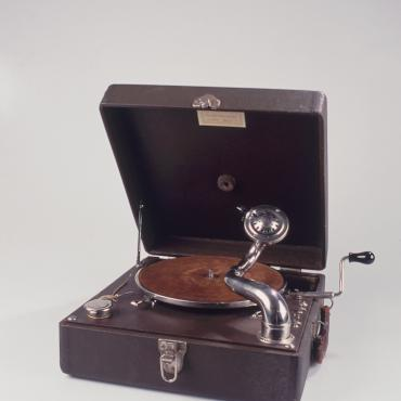 Portable Phonograph Used by Proselytizing Jehovah's Witnesses