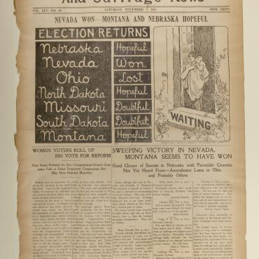 The 'Woman's Journal' Reports on State Referendums, Nov. 7, 1914 (1)