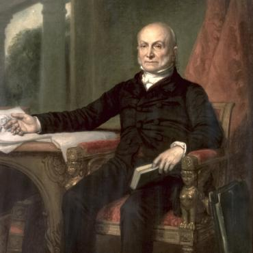Massachusetts Rep. John Quincy Adams