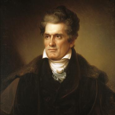 South Carolina Rep. John C. Calhoun